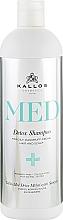 Parfüm, Parfüméria, kozmetikum Sampon korpásodás ellen - Kallos Cosmetics MED Detox Shampoo