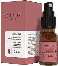 "Parfüm, Parfüméria, kozmetikum Olajos szájüreg spray ""Eper"" 2,5% - Herbliz CBD Oil Mouth Spray 2,5%"
