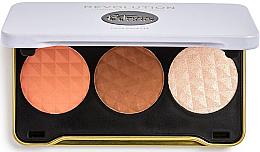 Parfüm, Parfüméria, kozmetikum Kontúrozó paletta - Makeup Revolution Patricia Bright Face Palette
