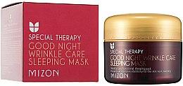 Parfüm, Parfüméria, kozmetikum Retinolos tápláló éjszakai arcmaszk ráncok ellen - Mizon Good Night Wrinkle Care Sleeping Mask