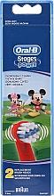 Parfüm, Parfüméria, kozmetikum Gyermek fogkefe pótfej EB10, Mickey - Oral-B Stages Power Disney