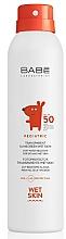 Parfüm, Parfüméria, kozmetikum Gyerek napvédő spray SPF 50+ - Babe Laboratorios Pediatric Wet Skin
