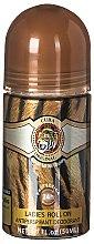Parfüm, Parfüméria, kozmetikum Cuba Jungle Tiger - Golyós izzadásgátló
