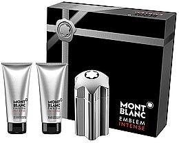 Parfüm, Parfüméria, kozmetikum Montblanc Emblem Intense - Ajándékszett (edt/100ml + a/sh/b/100ml + sh/g/100ml)