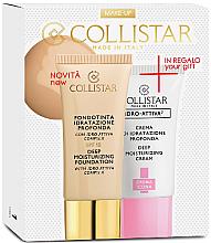 Parfüm, Parfüméria, kozmetikum Készlet - Collistar Deep Moisturizing Biscult (foundation/30ml + cr/25ml)