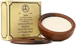 """Parfüm, Parfüméria, kozmetikum Borotválkozó szappan """"Szantál fa"""" - Taylor Of Old Bond Street Sandalwood Herbal Shaving Soap"""