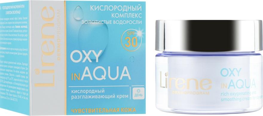 Nappali arckrém - Lirene Dermo Program Oxy In Aqua SPF30 — fotó N1