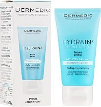 Parfüm, Parfüméria, kozmetikum Enzimes peeling nyakra és dekoltázsra - Dermedic Hydrain3 Hialuro Peel