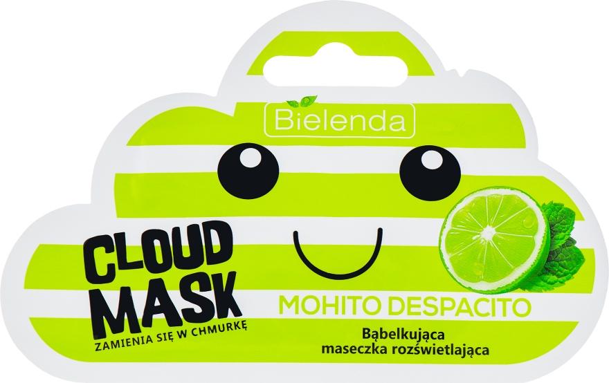 """""""Mojito"""" habzó maszk - Bielenda Cloud Mask Mohito Despacito"""