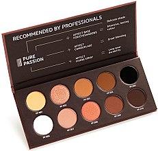 Parfüm, Parfüméria, kozmetikum Préselt szemhéjfesték paletta - Affect Cosmetics Pure Passion Eyeshadow Palette