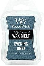 Parfüm, Parfüméria, kozmetikum Aroma viasz - WoodWick Wax Melt Evening Onyx