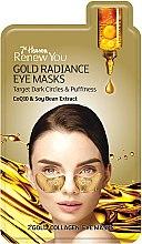 """Parfüm, Parfüméria, kozmetikum Szemköntúr maszk """"Arany csillogás"""" - 7th Heaven Renew You Gold Radiance Eye Masks"""