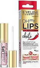 "Parfüm, Parfüméria, kozmetikum Ajaknövelő hatású szájfény ""Chili"" - Eveline Cosmetics OH! My Lips Lip Maximizer Chili"
