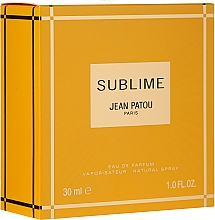 Parfüm, Parfüméria, kozmetikum Jean Patou Sublime - Eau De Parfum