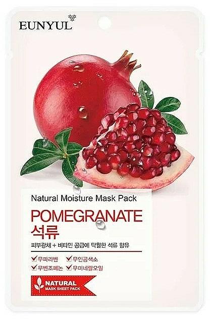 Szövetmaszk gránátalma kivonattal - Eunyul Natural Moisture Pomegranate Mask