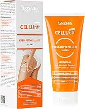 Parfüm, Parfüméria, kozmetikum Narancsbőr elleni krém - Floslek Slim Line Anti-Cellulite Body Cream Cellu Off