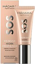 Parfüm, Parfüméria, kozmetikum Szemkörnyéki krém maszk - Madara Cosmetics SOS Eye Revive Hydra Cream & Mask