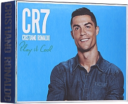 Parfüm, Parfüméria, kozmetikum Cristiano Ronaldo CR7 Play It Cool - Szett (edt/100ml + sh/gel/150ml + deo/spray/150ml)