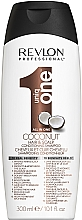 Parfüm, Parfüméria, kozmetikum Sampon és kondicionáló kókusz - Revlon Revlon Professional Uniq One Coconut Conditioning Shampoo