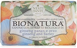"Parfüm, Parfüméria, kozmetikum Szappan ""Ginzeng és árpa"" - Nesti Dante Bio Natura Ginseng & Barley Soap"