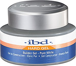 Parfüm, Parfüméria, kozmetikum Körömépítő zselé, fehér - IBD Builder Gel Pure White