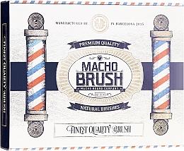 Parfüm, Parfüméria, kozmetikum Szakállformázó fésű, ovális - Macho Beard Company Macho Brush