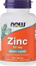 Parfüm, Parfüméria, kozmetikum Étrend-kiegészírő ásványi anyagok, cink-glükonát 50 mg, tabletta - Now Foods Zink