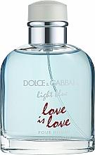 Parfüm, Parfüméria, kozmetikum Dolce & Gabbana Light Blue Love is Love Pour Homme - Eau De Toilette