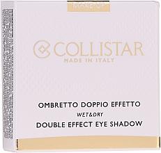 Parfüm, Parfüméria, kozmetikum Szemhéjfesték - Collistar Double Effect Eye-Shadow Wet & Dry