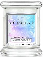 Parfüm, Parfüméria, kozmetikum Illatgyertya üvegben - Kringle Candle Watercolors