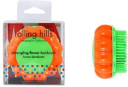 """Parfüm, Parfüméria, kozmetikum Kompakt hajfésű """"Kamilla"""" - Rolling Hills Brosse Demelante Flower"""