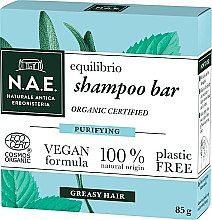 Parfüm, Parfüméria, kozmetikum Szilárd sampon zsíros hajra - N.A.E. Equilibrio Purifying Shampoo Bar