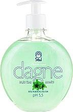 "Parfüm, Parfüméria, kozmetikum Folyékony szappan ""Zöld tea"" - Seal Cosmetics Dagne Liquid Soap"