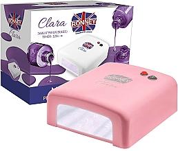 Parfüm, Parfüméria, kozmetikum Led lámpa, koral - Ronney Professional Clara UV 36W (GY-UV-818) Lamp