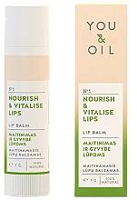 """Parfüm, Parfüméria, kozmetikum Ajakbalzsam """"Táplálás és ujjáélesztés"""" - You & Oil Nourish & Vitalise Lip Balm"""