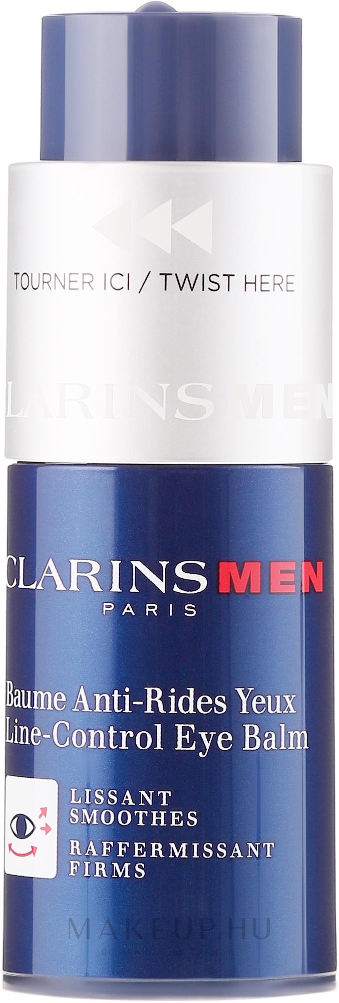 Öregedésgátló balzsam - Clarins Men Line-Control Eye Balm..