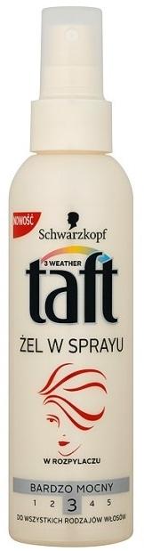 Hajformázó zselé, erős fixáló - Schwarzkopf Taft Hair Spray