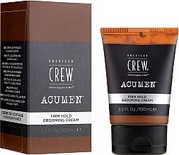 Parfüm, Parfüméria, kozmetikum Hajformázó krém, erős fixálás - American Crew Acumen Firm Hold Grooming Cream