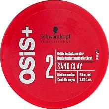 Parfüm, Parfüméria, kozmetikum Hajmodellező paszta - Schwarzkopf Professional Osis+ Texture Sand Clay