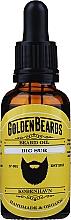 "Parfüm, Parfüméria, kozmetikum Szakállolaj ""Big Sur"" - Golden Beards Beard Oil"