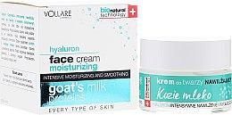 Parfüm, Parfüméria, kozmetikum Hidratáló arckrém kecsketejjel - Vollare Cosmetics Hyaluron Moisturizing Face Cream