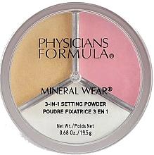 Parfüm, Parfüméria, kozmetikum Fixáló arcpúder - Physicians Formula Mineral Wear 3-In-1 Setting Powder