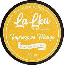 """Parfüm, Parfüméria, kozmetikum Fényes krém-mousse """"Csodás mangó"""" - Lalka"""
