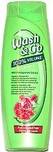 Parfüm, Parfüméria, kozmetikum Sampon gránát kivonattal festett hajra - Wash&Go