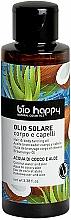 """Parfüm, Parfüméria, kozmetikum Önbarnító olaj """"Kókusz víz és aloe"""" - Bio Happy Hair & Body Tanning Oil Coconut Water And Aloe"""