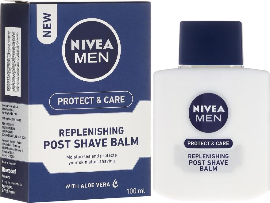 Regeneráló borotválkozás utáni balzsam - Nivea For Men Replenishing After Shaving Balm