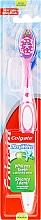 "Parfüm, Parfüméria, kozmetikum Fogkefe ""Max White"", fél kemény, rózsaszín - Colgate Max White Medium With Polishing Star"