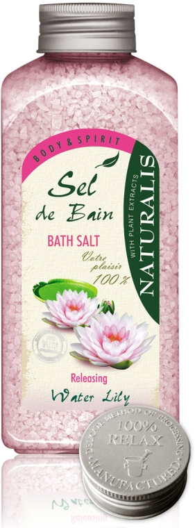 Fürdősó - Naturalis Sel de Bain Water Lily Bath Salt