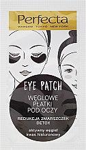 Parfüm, Parfüméria, kozmetikum Szemkörnyékápoló párna szénnel - Dax Cosmetics Perfecta Eye Patch