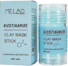 """Parfüm, Parfüméria, kozmetikum Maszk stift arcra """"Nicotinamide""""  - Melao Nicotinamide Clay Mask Stick"""